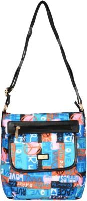 Lizzie Women Multicolor PU Sling Bag