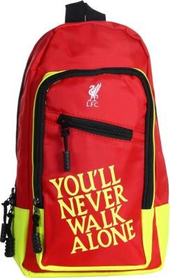 Liverpool FC Men, Women Red Polyester Sling Bag