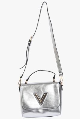 VIVO Women, Girls Casual Silver PU Sling Bag
