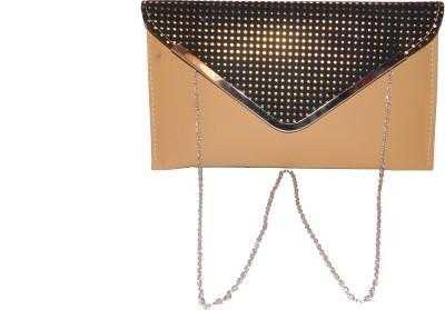 JTM Trading Girls, Women Brown, Black PU Sling Bag
