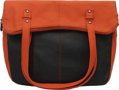 Borsavela Women Casual Orange PU Sling Bag