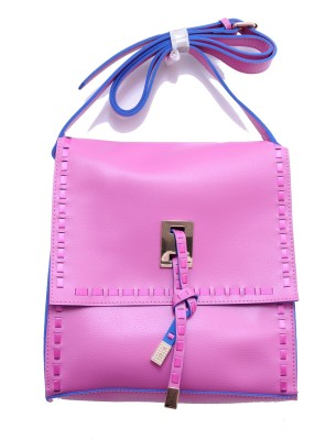 Monett Women Pink PU Sling Bag