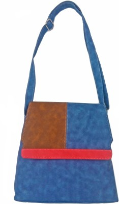 MADASH Girls Blue PU Sling Bag