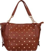 Lychee Bags Women Brown PU Satchel