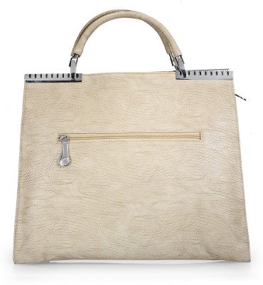 BY Bribe Yourself Women Casual White PU Shoulder Bag