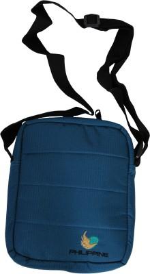 Philippine Women Blue Polyester Sling Bag