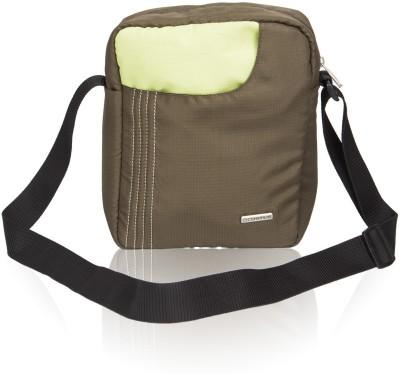 Cosmus Boys, Men Green Polyester Sling Bag