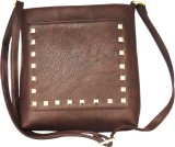 Madame Exclusive Women Brown Leatherette...