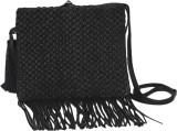 Romari Women Black Genuine Leather Sling...