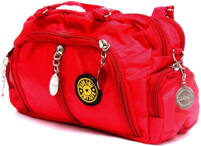 Chaklu Paklu Girls Red PU Sling Bag