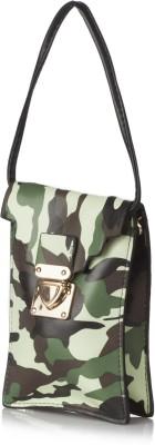 Stylehoops Girls, Women, Boys, Men Casual Green PU Sling Bag