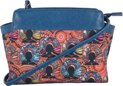 Kanvas Katha Women, Girls Multicolor Canvas Sling Bag