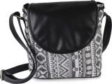 Lychee Bags Women Casual Black Canvas Sl...