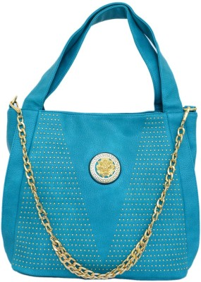 JUSTBAGS Women Blue PU Sling Bag