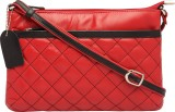 Supreme Leather Women Casual Red Genuine...