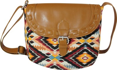 Lychee Bags Women Multicolor Canvas Sling Bag