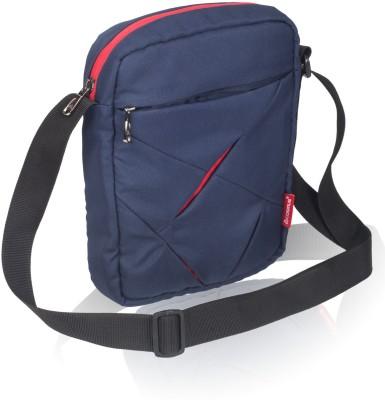 Cosmus Men, Boys Blue Polyester Sling Bag
