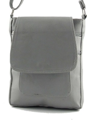 Rockyard Girls, Women Grey Leatherette Sling Bag