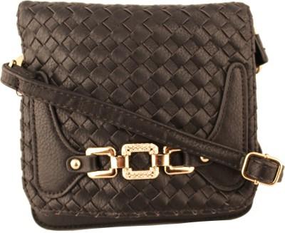 Damit Girls, Women Black PU Sling Bag