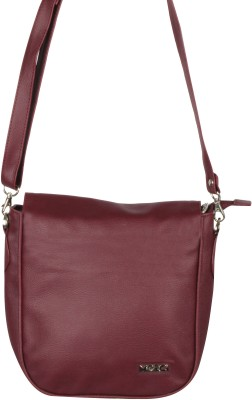 Merci Women Brown PU Sling Bag
