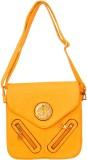 Parv Collections Women Casual Orange Lea...