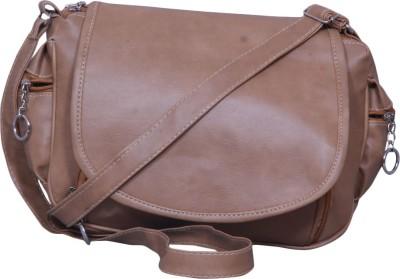 Notbad Girls Beige Leatherette Sling Bag