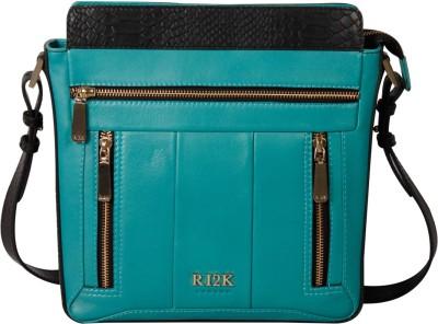 RI2K Girls, Women Black, Blue, Green, Multicolor Genuine Leather Sling Bag