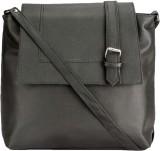 Style Zone Women Black PU Sling Bag