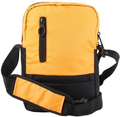 Bendly Men, Women Orange Polyester Sling Bag