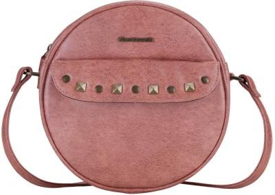 Fastrack Girls, Women Pink Leatherette Sling Bag