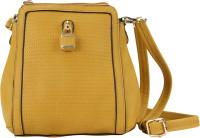 AND Girls Yellow PU Sling Bag