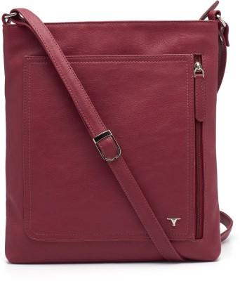 Bulchee Girls, Women Pink Leatherette Sling Bag