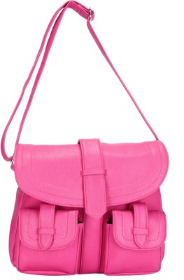 Starz Women, Girls Pink PU Sling Bag