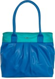 Goodwill Leather Art Shoulder Bag (Blue,...