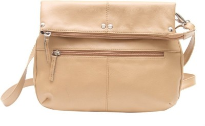 The Parallels Girls, Boys Casual, Formal Beige PU Sling Bag