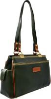 JFL - Jewellery for Less Girls Green Genuine Leather Shoulder Bag