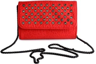 Kazo Women Red PU Shoulder Bag