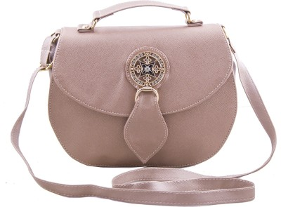 Voaka Women, Girls Pink PU Sling Bag