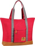 CAT Women Red Polyester Tote