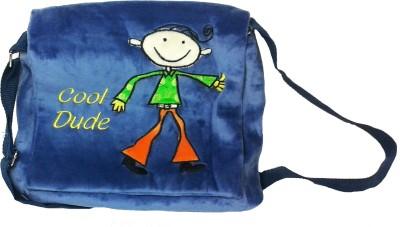 Soft Buddies Boys, Girls Casual Blue Polyester Sling Bag
