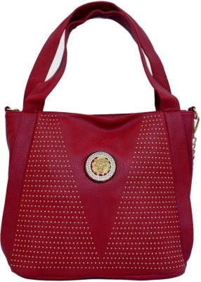JUSTBAGS Women Red PU Sling Bag