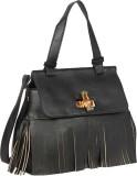 Bagkok Women Black PU Sling Bag