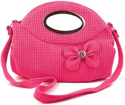 Chalissa Girls, Women Pink Rexine Sling Bag
