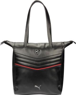 Puma Women Black PU Shoulder Bag