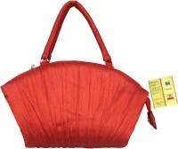 Tantu Women Red Silk Hand-held Bag