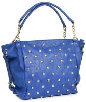 Ayeshu Women Blue PU Shoulder Bag