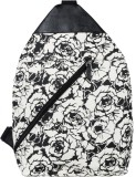 Iralzo Women Black Canvas Sling Bag