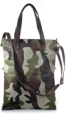 All Men, Women Casual Green Canvas Sling Bag