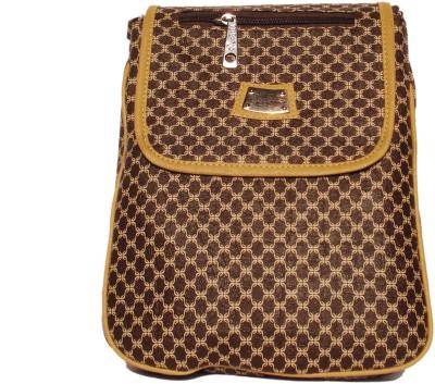 WEEBILL Girls Brown, Beige PU Sling Bag
