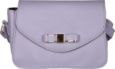 The Backbencher Women Purple Leatherette Sling Bag